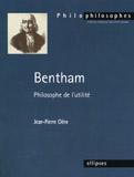 Bentham Philosophe De L'Utilite - Couverture - Format classique