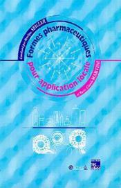 Formes pharmaceutiques pour application locale - Couverture - Format classique