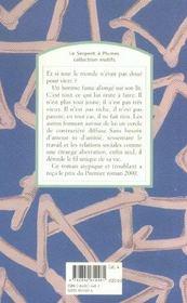 Claude - 4ème de couverture - Format classique