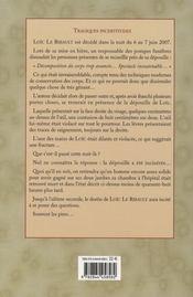 Loic Le Ribault ; Le Scientifique Qu'Il Fallait Faire Taire - 4ème de couverture - Format classique