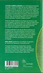 Enjeux De La Parentalite (Les ) - 4ème de couverture - Format classique