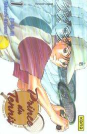 Prince du tennis t.1 - Couverture - Format classique