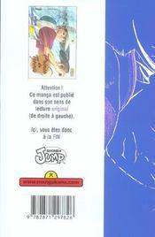Prince du tennis t.1 - 4ème de couverture - Format classique