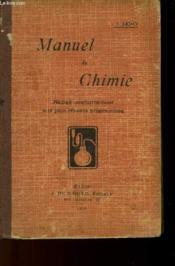 Manuel De Chimie - Couverture - Format classique