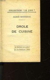 Drole De Cuisine - Couverture - Format classique
