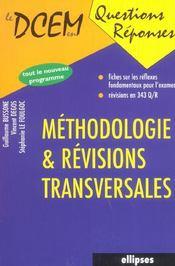 Methodologie & Revisions Transversales - Intérieur - Format classique