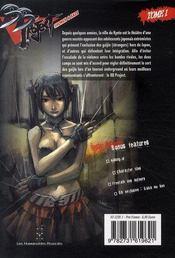 B.B. project t.1 - 4ème de couverture - Format classique
