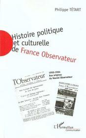 Histoire Politique Et Culturelle De France ; Observateur - Intérieur - Format classique