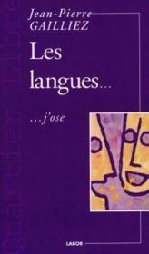 Les Langues ; J'Ose - Couverture - Format classique