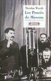 1936-1938, les procès de Moscou - Intérieur - Format classique