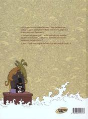 Donjon zénith t.3 ; la princesse des barbares - 4ème de couverture - Format classique