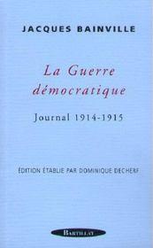 Guerre Democratique - Intérieur - Format classique