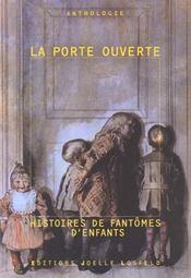 Anthologie sur les fantomes d'enfants - Intérieur - Format classique