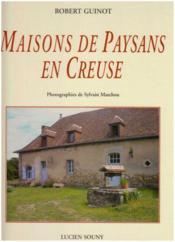 Maisons De Paysans En Creuse - Couverture - Format classique