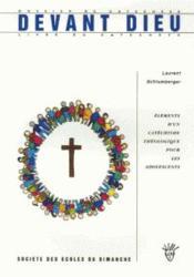 Devant Dieu : Le Sens Du Culte - Livret Du Catechete - Couverture - Format classique