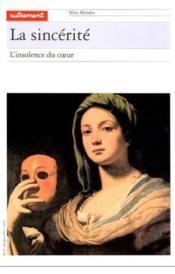 La sincerite - Couverture - Format classique