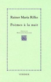 Poemes a la nuit - Couverture - Format classique