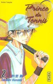 Prince du tennis t.2 - Intérieur - Format classique
