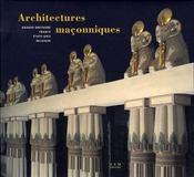 Architectures maçonniques ; gb, france, usa, belgique - Intérieur - Format classique