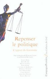 Repenser La Politique ; L'Apport Du Feminisme - Intérieur - Format classique