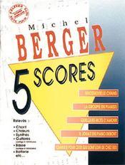 Berger ; 5 scores - Couverture - Format classique