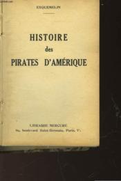 Histoire Des Pirates D'Amerique - Couverture - Format classique