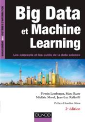 Vente  Big data et machine learning (2e édition)  - Pirmin Lemberger - Marc Batty - Mederic Morel - Jean-Luc Raffaelli
