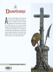 Dampierre t.8 ; le trésor de la Guyonnière - 4ème de couverture - Format classique