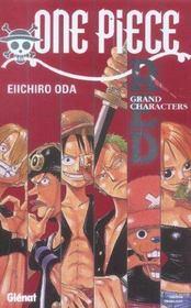 One piece ; red grands characters - Intérieur - Format classique