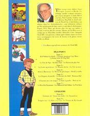 Chick Bill ; intégrale t.7 - 4ème de couverture - Format classique