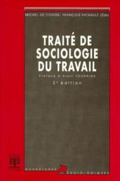 Traité de sociologie (2e édition) - Couverture - Format classique