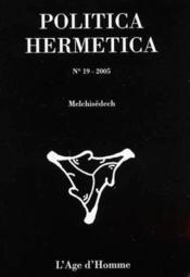 Melchisedech - Couverture - Format classique