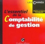 Essentiel de la comptabilite de gestion 2e ed. (l') (2e édition) - Intérieur - Format classique