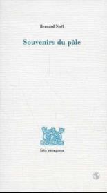 Souvenirs du pâle - Couverture - Format classique