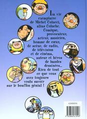 Le Petit Coluche Illustre - 4ème de couverture - Format classique