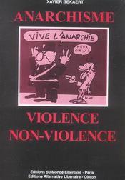 Anarchisme, Violence/Non-Violence - Intérieur - Format classique
