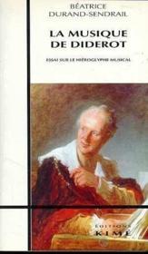 La musique de Diderot - Couverture - Format classique