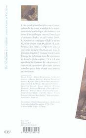 Le féminin en miroir entre Orient et Occident - 4ème de couverture - Format classique