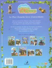 Nos Voisins Les Hommes ; Le Plus Chouette Livre D'Autocollants - 4ème de couverture - Format classique