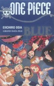 One piece ; blue grand data file - Couverture - Format classique