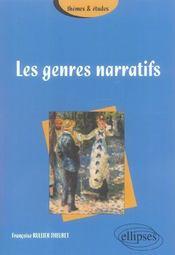 Les Genres Narratifs - Intérieur - Format classique