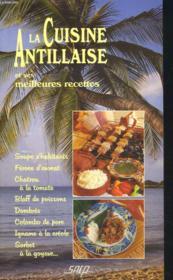 La cuisine antillaise - Couverture - Format classique