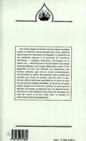 Bibliographie De Kateb Yacine - 4ème de couverture - Format classique