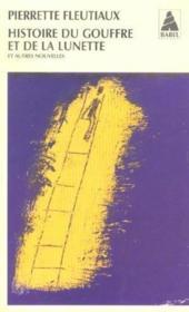 Histoire du gouffre et de la lunette - Couverture - Format classique