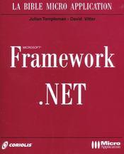 Net Framework - Intérieur - Format classique