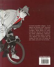Jérome K. Jérome Bloche ; intégrale t.1 - 4ème de couverture - Format classique