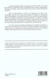 Navigation Dans Les Detroits Internationaux Et Protection De L'Environnement - 4ème de couverture - Format classique