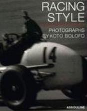 Racing style - Couverture - Format classique
