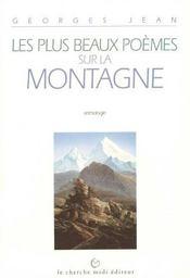 Les plus beaux poèmes sur la montagne ; anthologie - Intérieur - Format classique