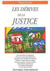 Racisme ; les dérives de la justice - Couverture - Format classique